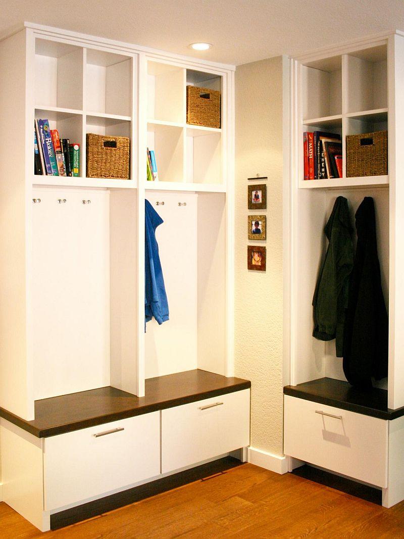 Pentru o locuinta actuala, moderna, mai mult spatiu de depzitare e binevenit. Foto Fiorella Design