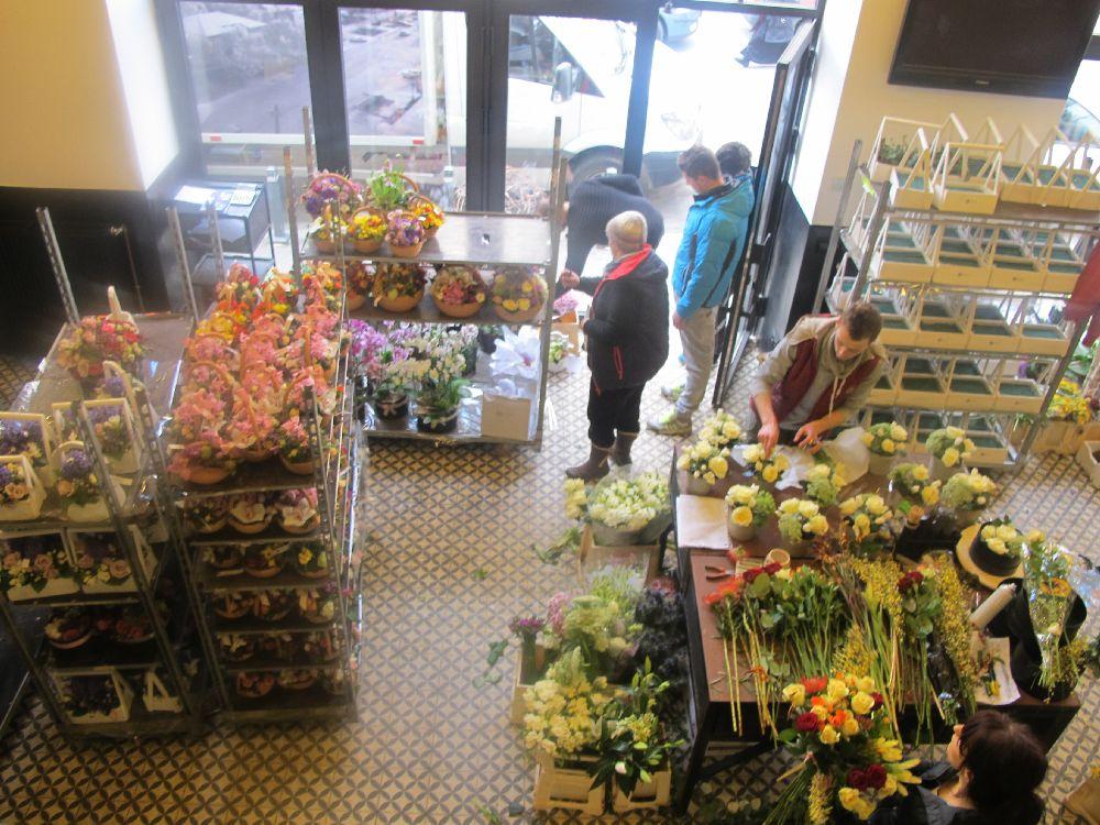 adelaparvu.com despre atelierul designerului florist Nicu Bocancea, Foraria Iris, design interior Pascal Delmotte (39)