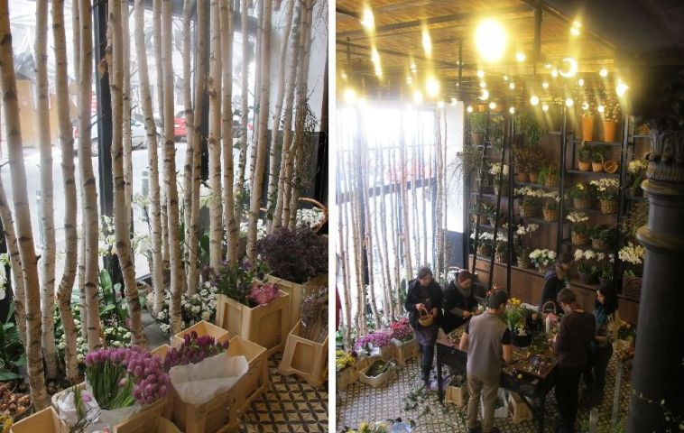 adelaparvu.com despre atelierul designerului florist Nicu Bocancea