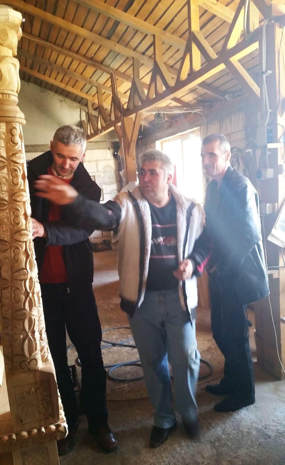 adelaparvu.com despre sculptorul in lemn Ion Moise din Topoloveni (18)