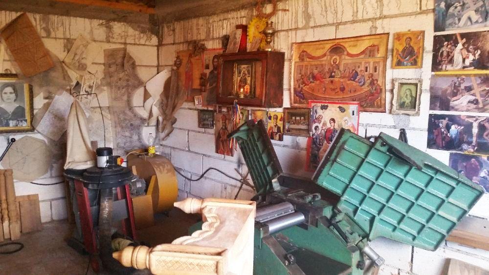 adelaparvu.com despre sculptorul in lemn Ion Moise din Topoloveni (4)