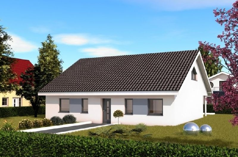 Model casa Braune-Chalet 115, suprafata 114,69 mp,  3 camere,  Proiect Haus xxl