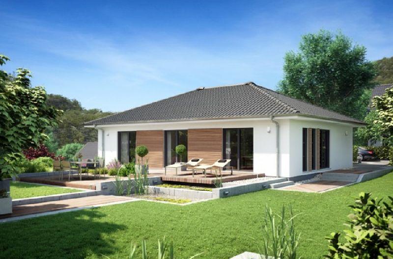Proiecte de case cu un singur nivel și suprafețe între 87 și 145 ...