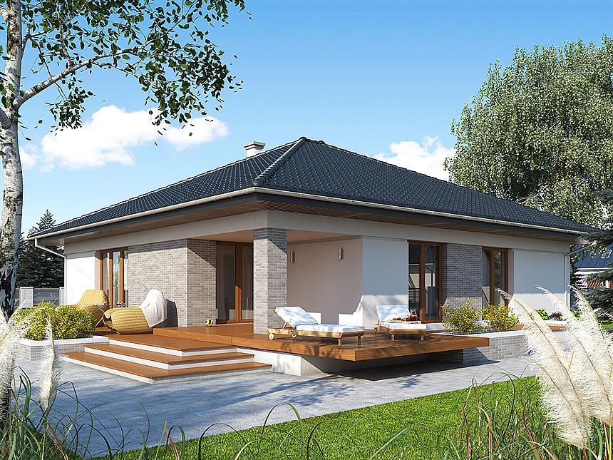 adelaparvu.com despre proiecte de case cu parter si parter si mandarda, Proiect extradom.pl Foto Extradom (9)