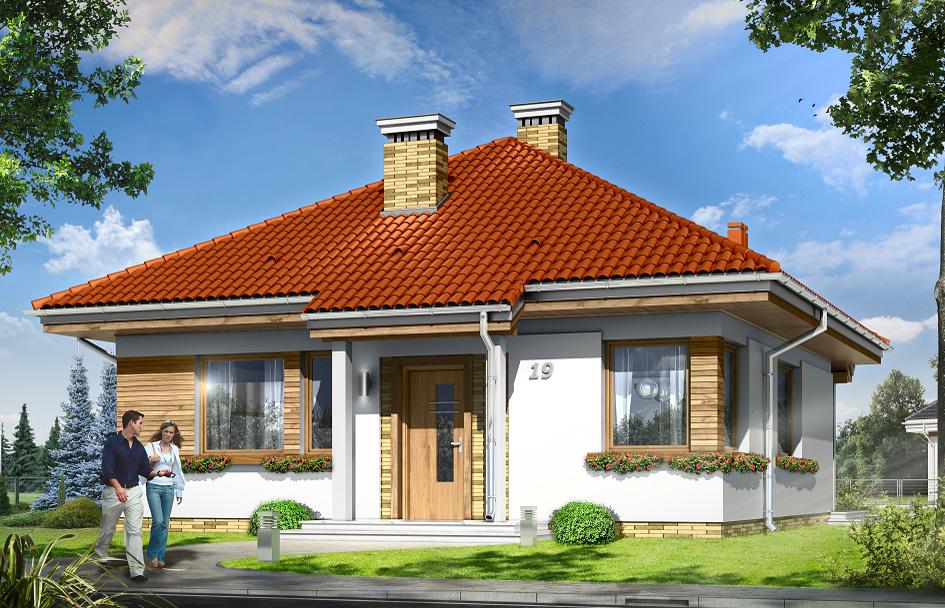 adelaparvu.com despre proiecte de case cu parter si parter si mandarda, Proiect mgprojekt.com.pl Foto mgproject (2)