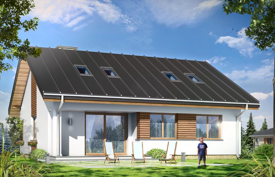 adelaparvu.com despre proiecte de case cu parter si parter si mandarda, Proiect mgprojekt.com.pl Foto mgproject (5)