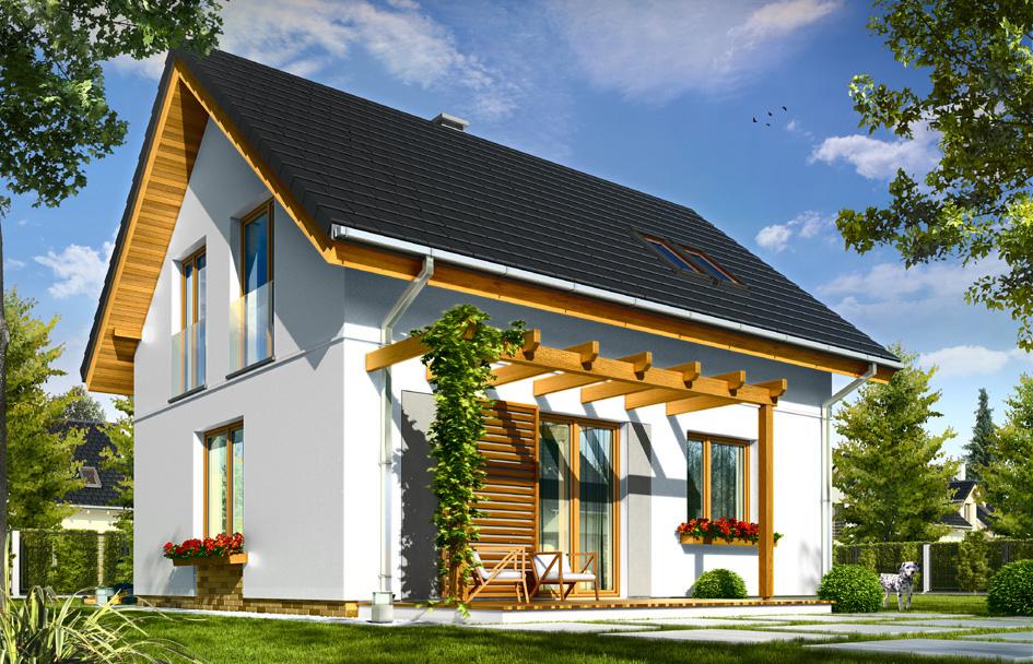 adelaparvu.com despre proiecte de case cu parter si parter si mandarda, Proiect mgprojekt.com.plFoto MGProject (10)