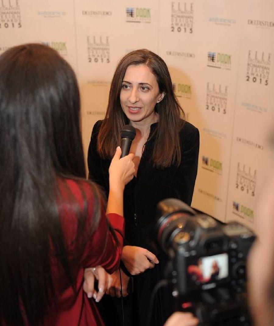 adelaparvu.com despre premiile Elle Decoration 2015, Ileana Raducanu redactor sef Elle Decoration