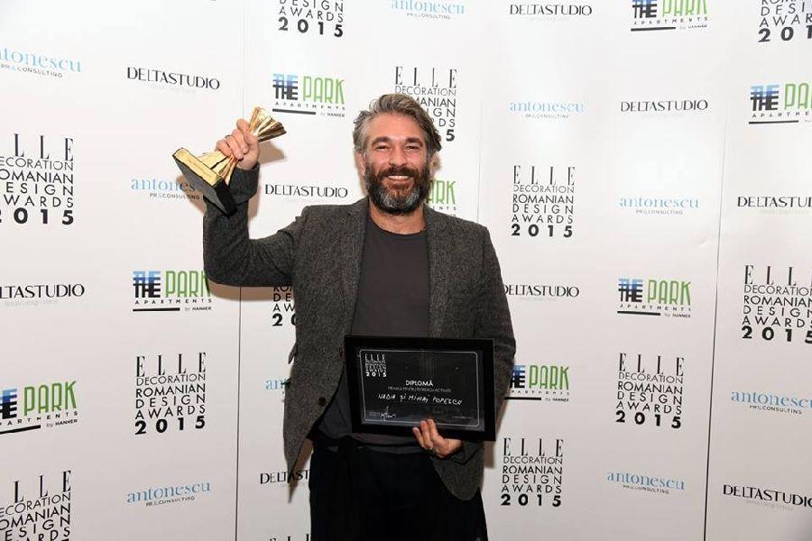adelaparvu.com despre premiile Elle Decoration 2015, Mihai Popescu premiul pentru intreaga activitate de design