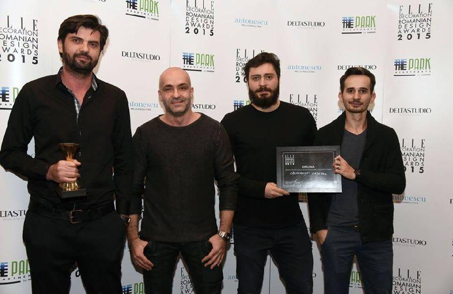 adelaparvu.com despre premiile Elle Decoration 2015, arhitectii de la biroul Square One