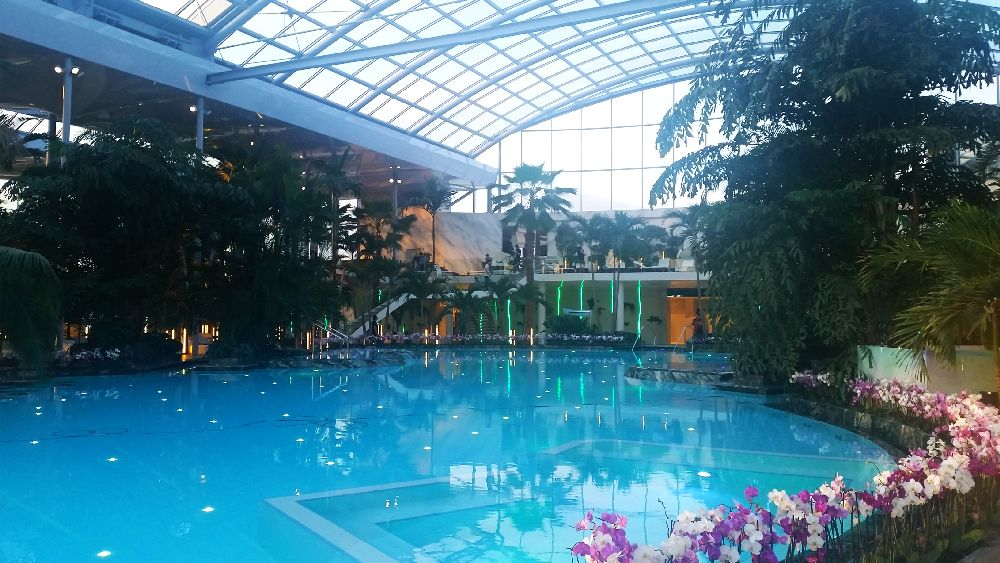 adelaparvu.com despre Therme Bucuresti, zona The Palm (28)