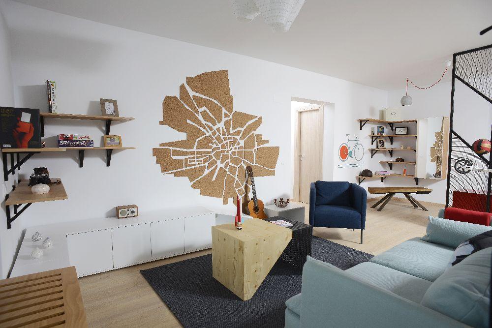 adelaparvu.com despre amenajare apartament 4 camere The Park, designeri Mihnea Ghildus si Marilena Popa (28)