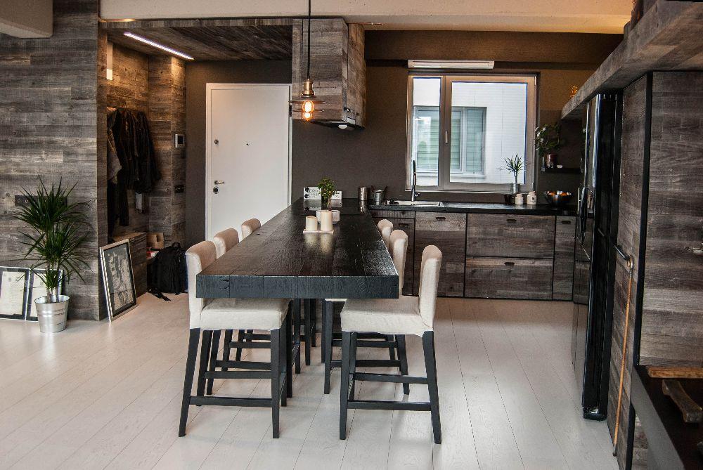 adelaparvu.com despre amenajare apartament cu lemn masiv, design interior arh Ciprian Manda, Foto Aliona Danielescu, Niculae Stoleriu (2)