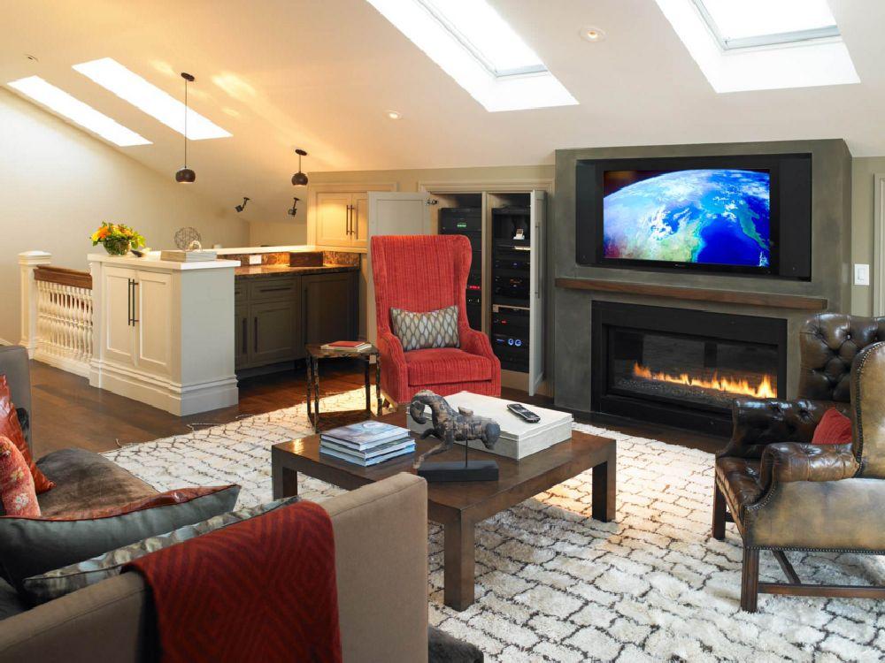 130 De Idei Pentru Living Cu Televizor și șemineu Pe