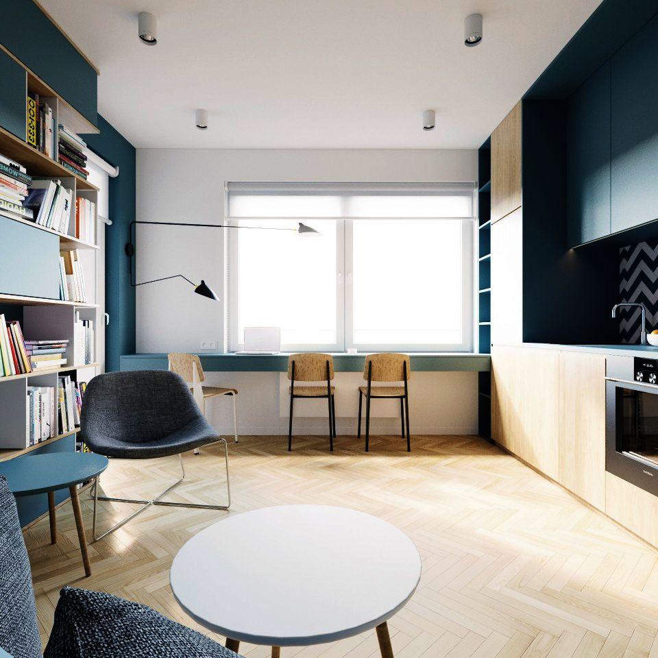 adelaparvu.com despre apartament 2 camre, 40 mp, design Studio 081 Architekci, Foto 081 Architekci (11)