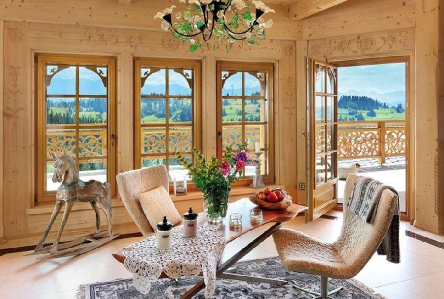 adelaparvu.com despre casa din lemn cu interior folcloric, casa Polonia, design interior Katarzyna Zachariasz-Rybak, k2 Studio (22)
