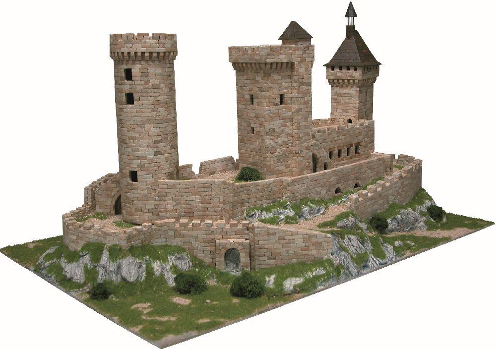 adelaparvu.com despre kituri de constructie, castelul Chateau de Foix, Atelierul de Modelism