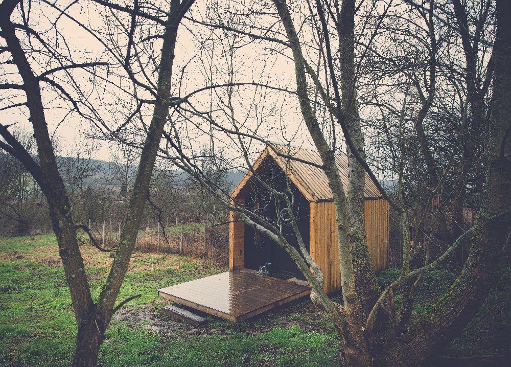 adelaparvu.com despre studio din lemn, Casutul, design Stefan Lazar, Ezzo Design, Foto Ezzo Design (39)