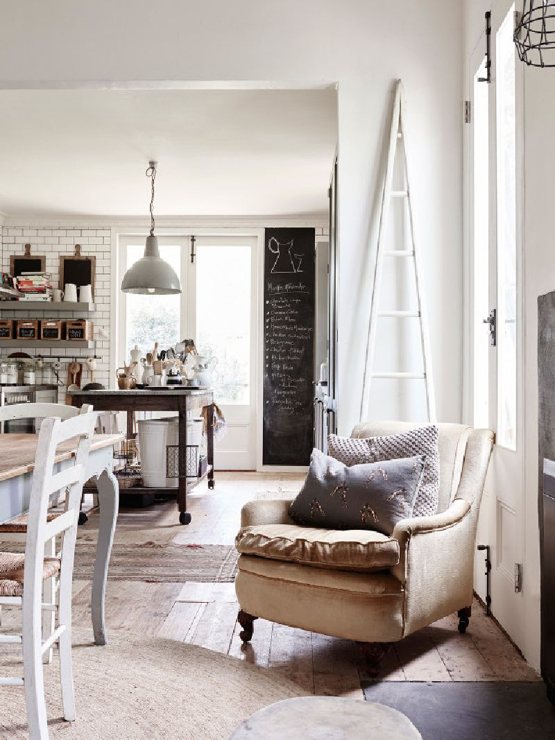 adelaparvu.com despre casa in stil rustic industrial, designer Amanzda Henderson, Foto Eve Wilson, The Design Files (7)
