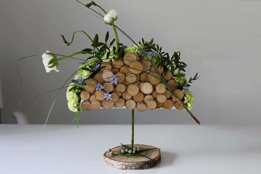 adelaparvu.com despre concurs floral Sun Plaza, florist Adina Filculescu, EnRose (4)