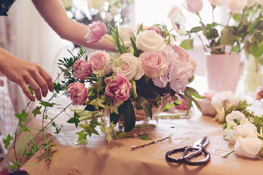 adelaparvu.com despre concurs floral Sun Plaza, florist Adina Filculescu, EnRose (7)