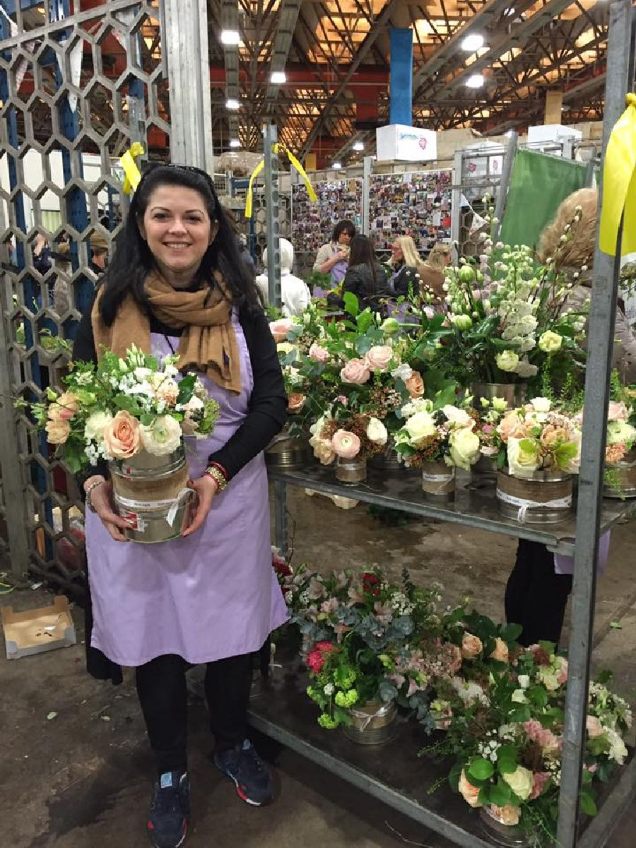 adelaparvu.com despre concurs floral Sun Plaza, florist Mihaela Gunta, The Wedding Company (8)