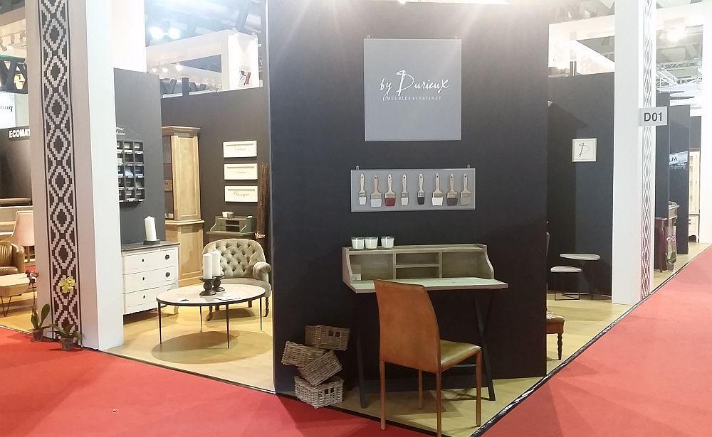 adelaparvu.com despre firme romanesti de mobila la Salone del Mobile 2016, stand by Durieux (3)
