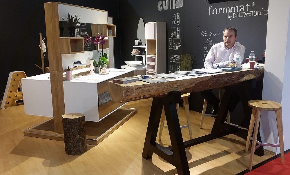 adelaparvu.com despre firme romanesti de mobila la Salone del Mobile Milano 2016, Format by Delta Studio (5)