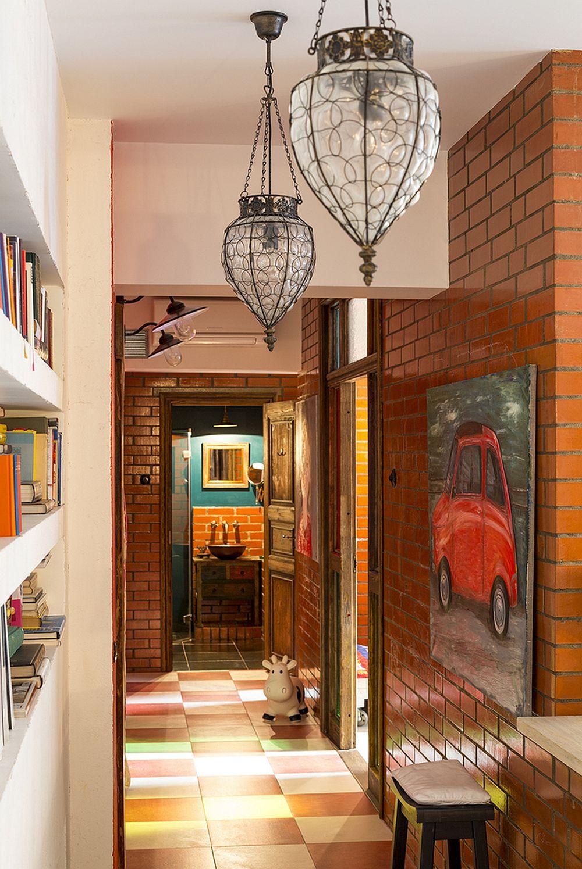 adelaparvu.com despre locuinta creativa Moscova, 82 mp, design lenka.design, designer Elena Fateeva (16)