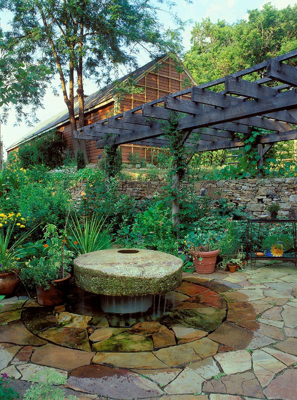 adelaparvu.com despre gradina rustica, Orchard Farm, design Clinton and Associates Landscape Architects, Foto Roger Foley (9)