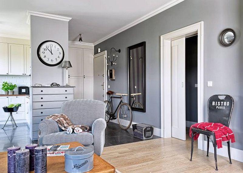 adelaparvu.com despre apartament 2 camere, 61 mp, Varsovia , Foto Mariusz Putna (2)