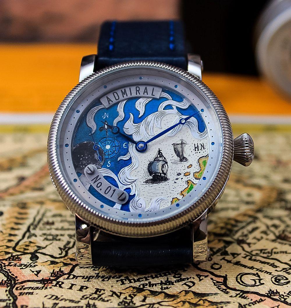 adelaparvu.com despre designer ceasuri Augustin Matei, ceas model Admiral (3)