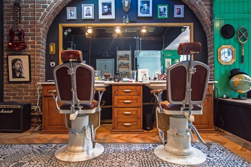 adelaparvu.com despre Elle Decoration Romanian Design Awards 2016, Mr Blade Barber Shop, design Mihai Grama (3)