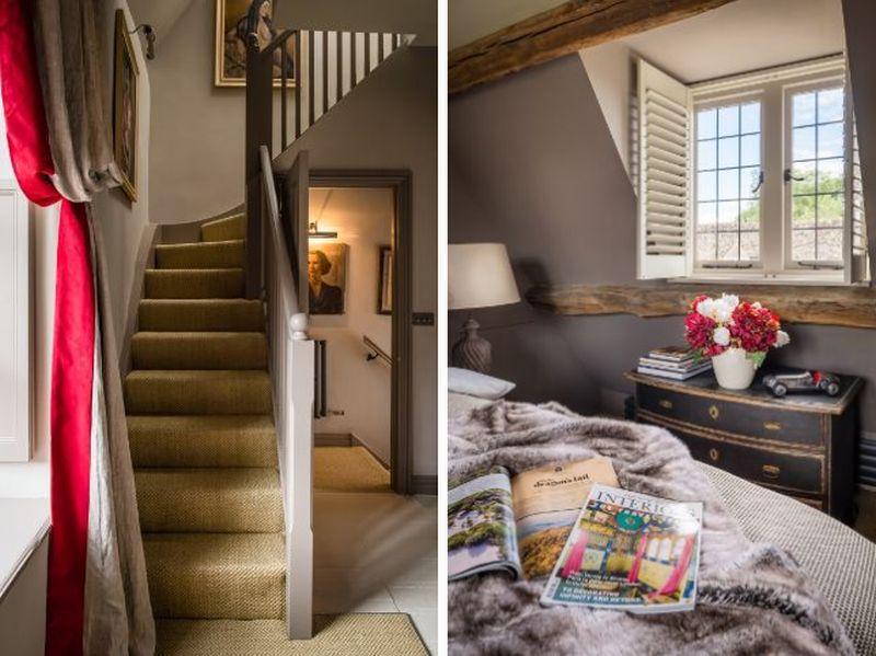 adelaparvu.com despre casa romantica englezeasca in Burford, Little Scarlet prin Unique Home Stays (13)