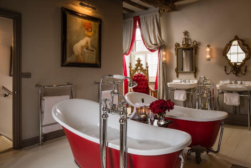 adelaparvu.com despre casa romantica englezeasca in Burford, Little Scarlet prin Unique Home Stays (2)