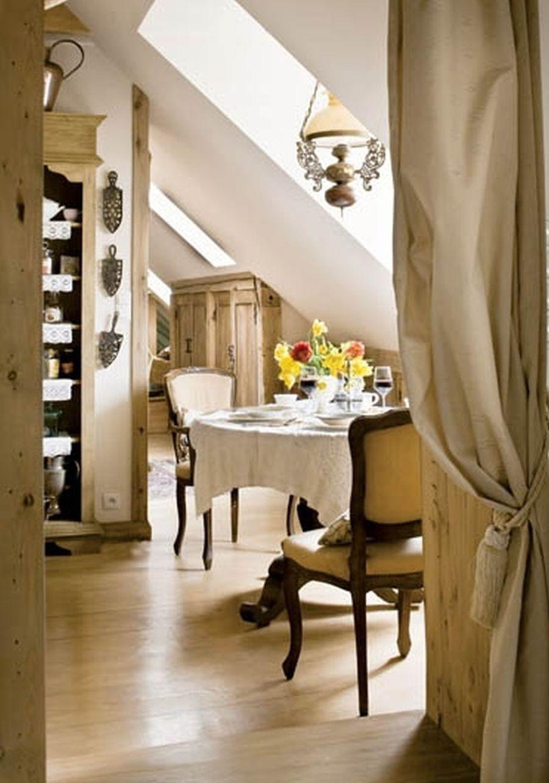 adelaparvu.com despre mansarda romantica, stil rustic, Design PrzepisnaDom, Foto Rafal Lipski (19)
