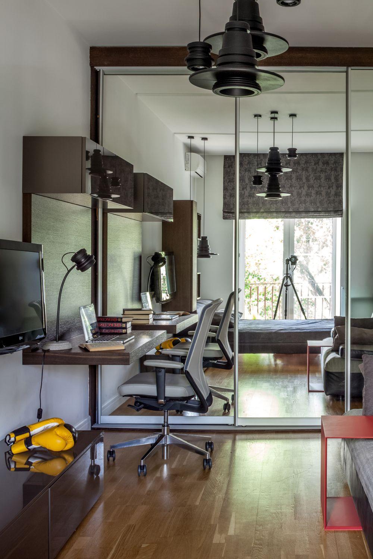 adelaparvu.com despre apartament de 3 camere, 82 mp, Moscova, Designer Xenia Turik (4)