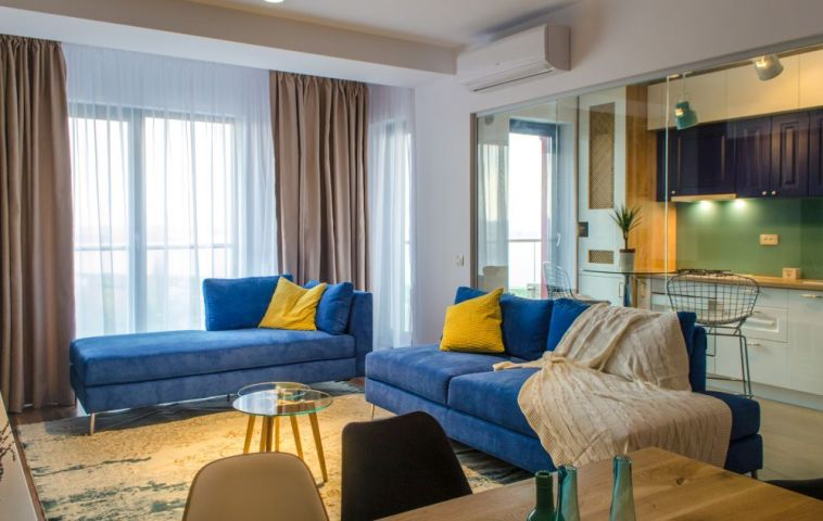 adelaparvu.com despre amenajare apartament 3 camere Bucuresti, 83 mp, Design arh. Sergiu Califar, Pure Mess (8)