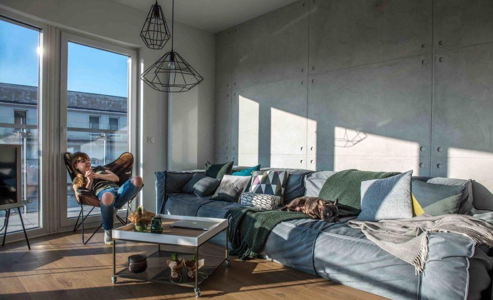 adelaparvu.com despre apartament de 2 camere in stil scandinav, Polonia, Design Shoko Studio (13)