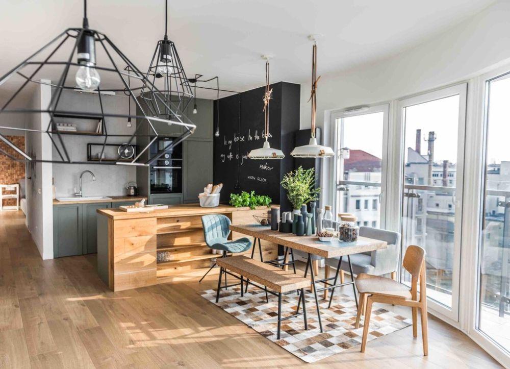 adelaparvu.com despre apartament de 2 camere in stil scandinav, Polonia, Design Shoko Studio (2)