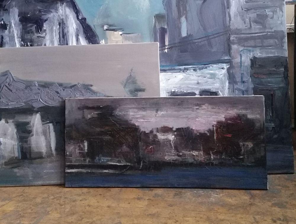 adelaparvu.com despre atelierul pictorului Eugen Raportoru, test SeeColors Samsung (17)