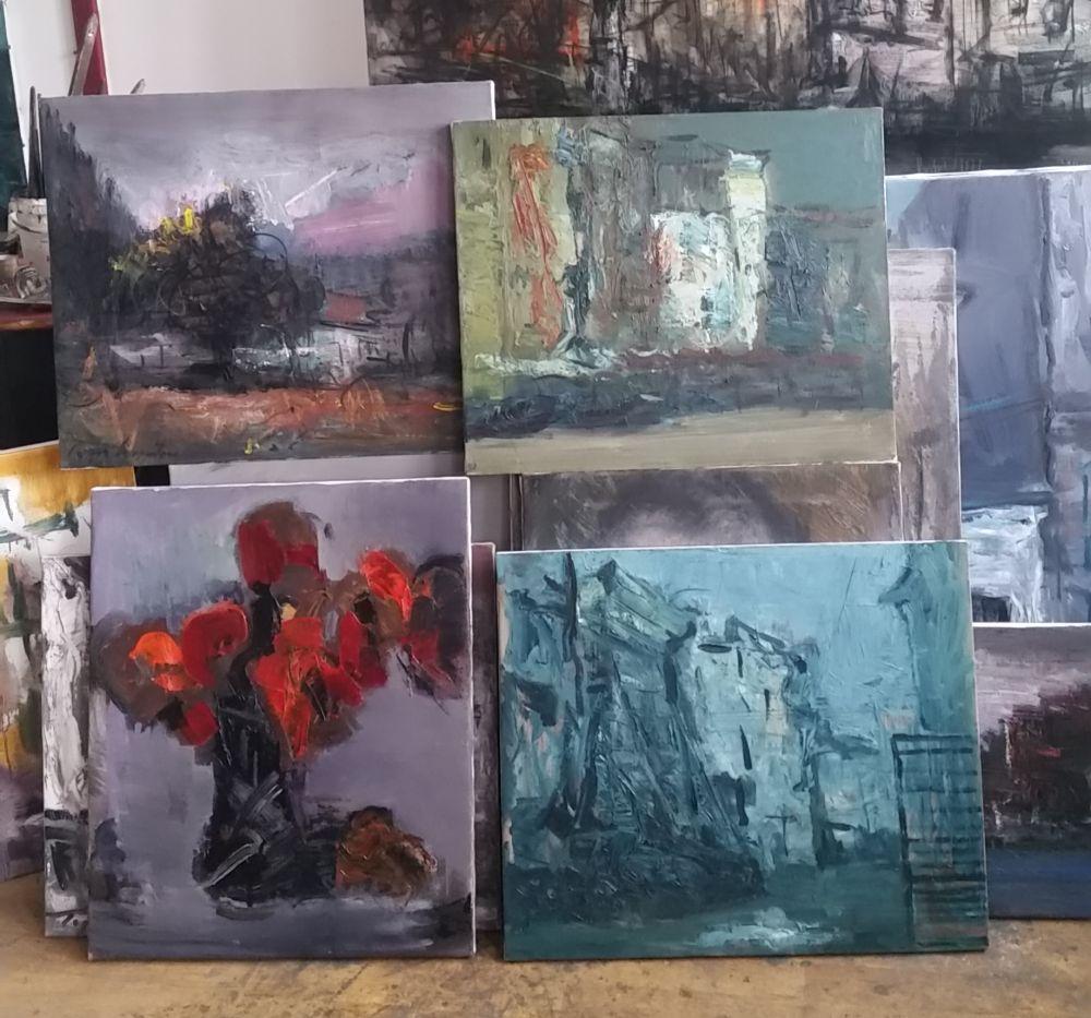 adelaparvu.com despre atelierul pictorului Eugen Raportoru, test SeeColors Samsung (23)