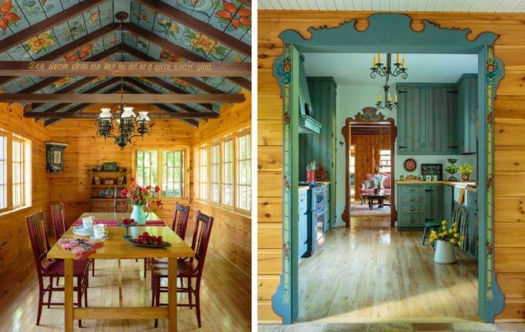 adelaparvu.com despre cabana rustica cu picturi scandinave, design Virge Temme Architecture, Foto Mark Lohmann (13)