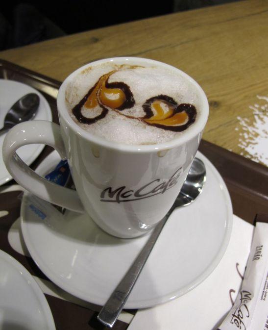 McDonalds cafea