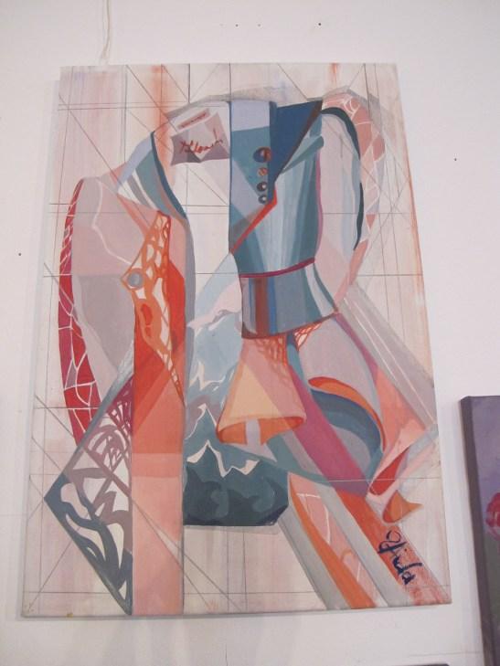 Deconstructivism de Aida Ursu expusa la Perceptia cromatica in teorie si practica Galeria UNArte