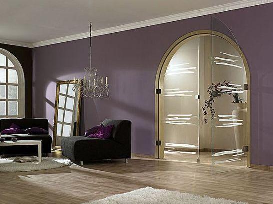 Model usa sticla pentru ambient clasic Gemini de la Exclusive Doors