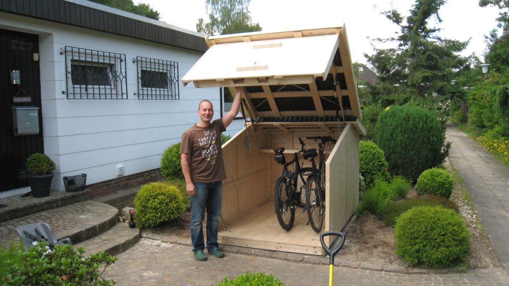 garaje pentru biciclete si motociclete adela p rvu jurnalist home garden. Black Bedroom Furniture Sets. Home Design Ideas
