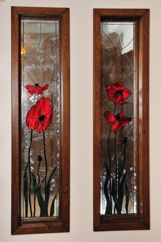 Rame lemn masiv cu vitralii de la Apollo Romania