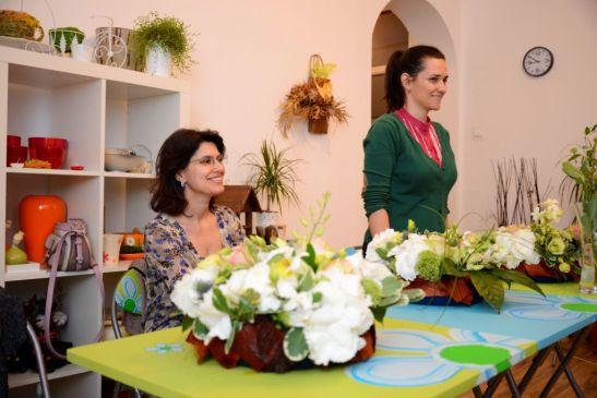 adelaparvu.com despre cursuri florale Andeli Design (2)