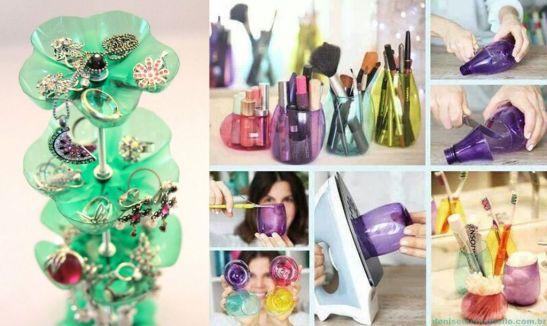 Idei de recipiente decorative din sticle de plastic